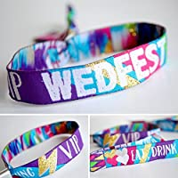 WEDFEST Festival Wedding Wristband Wedding favours