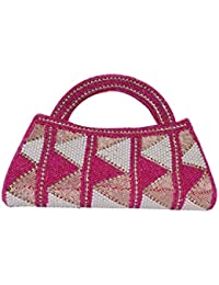 Adiari Fashion Purple Colored Hancrafted Handbag for women