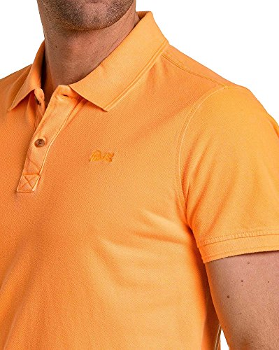 Petrol Industries - Piqué Polo fluoreszierende orange Mann Orange
