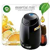 Air Wick Diffuseur d'Huiles Essentielles Essential Mist avec 1 recharge parfum Fleur de Citronnier et de Mandarinier...