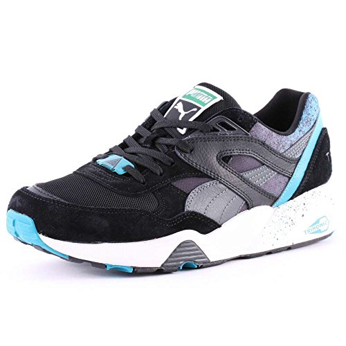Puma Shoes - Puma R698 Splatter Q2 Shoes - Maza... Schwarz