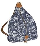 SIX SALE 'Trend' blaue Damen Handtasche Beutel...