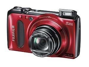 Fujifilm FinePix F500 Digital Camera - Red (16MP, 15x Optical Zoom) 3 inch LCD