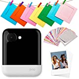 Polaroid POP 2.0 20MP Digital Sofortbildkamera mit 3,97 Touchscreen-Display, Zink Zero Ink-Technologie druckt 3,5 x 4,25 Fotos, Weiß