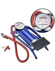VIRAL ENTERPRISE Foot Pump, Portable High Pressure Foot Pump, Air Tyre Inflator, Pump Compressor for Bike/Car/Cycles and All Vehicles