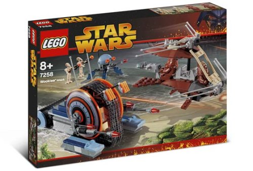 Lego Star Wars 7258 - Wookiee Attack