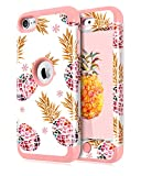 Dailylux iPod Touch 7 Coque,iPod Touch 6 Coque,iPod Touch 5 Coque Silicone Resistant...