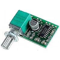 DaoRier PAM8403 mini 5V Tablero Digital Pequeño Amplificador de Potencia con Interruptor Potenciómetro USB