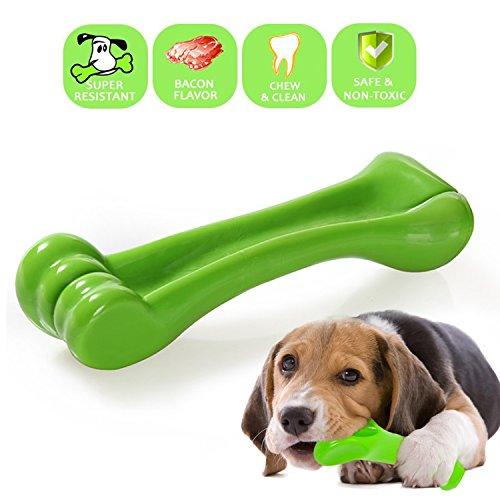 Stabiler Hund kauen Spielzeug, Yami Knochen Form Kauspielzeug für Welpen dogs-best für aggressive Kauer/Zahn Reinigung (60 Lb Hunde)