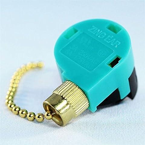 Lovinstar Zing Ear ZE-268S6 ZE-208S6 Switch 3 Speed Pull Chain Control Brass by Lovinstar