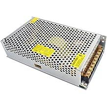 Redrex DC 12V 20A Universal Regulada Conmutación Adaptador de Alimentación de Transformador Para Impresoras 3D Tira LED Luces Proyecto Ordenador de Circuito Cerrado de Televisión Sistema de Seguridad