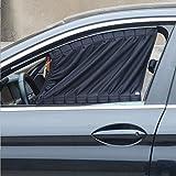 ruick, 2Stück, verstellbar Auto Seite Fenster Vorhang sunshade UV-Vorhang Visor VIP Schutz