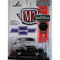 M2 MACHINES AUTO-DRIVERS 1:64 SCALE BLACK 1967 CHEVROLET NOVA SS DIE-CAST by Castline