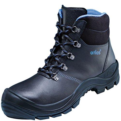 Atlas Chaussures de sécurité Duo Soft 735hi1HRO après en ISO 20345S3SRC HT1HRO de Noir