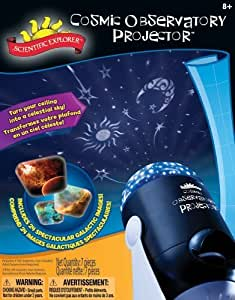 POOF-Slinky 06500BL Scientific Explorer Cosmic Observatory Ceiling and Wall Projector by Scientific Explorer TOY (English Manual)