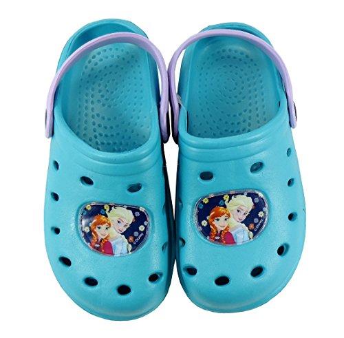 Clogs Zoccoli Sabot Disney FROZEN scarpe bambina Frozen dal 24 al 35 Acqua