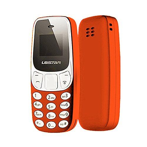 TOOGOO Mini Bluetooth Mobile Welt der kleinste mobile Konverter Dual Analog L8 Stern BM10 U8P3 Orange (Headset-bluetooth-konverter)