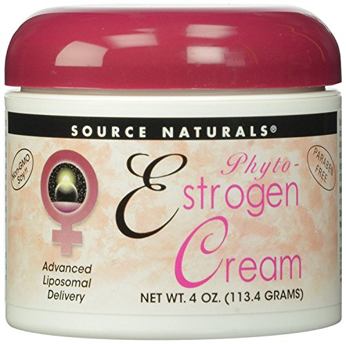 Source Naturals Phyto-Östrogen-Creme, fortgeschrittene Liposomale Lieferung, 4 Unzen Source Naturals Phyto-Estrogen Cream, Advanced...