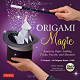 Origami Magic Kit: Amazing Paper Folding Tricks, Puzzles and Illusions: Kit with Origami Book, 17 Projects, 60 Origami Papers and DVD