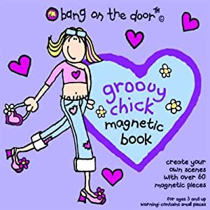 Bang on the Door Groovy Chick Magnetic Board Game