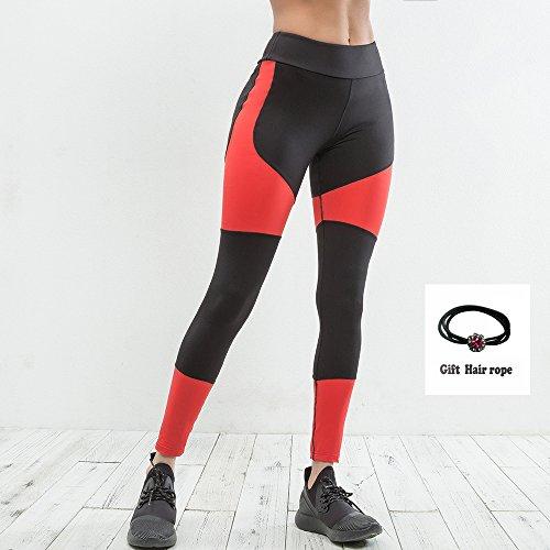 Huoduoduo Damen Sport Leggings, Farblich Passende Leggings, Dicke Yogahosen (Größe S, M, L, Geschenkschnur),M | 06852222426106