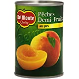 Del Monte Pêches Demi-Fruits au Jus 420 g