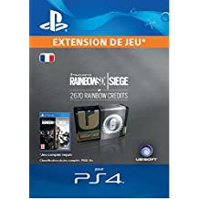 Tom Clancy's Rainbow Six Siege Currency pack 2670 Rainbow credits  [Code Jeu PS4 - Compte français]