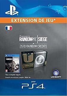 Tom Clancy's Rainbow Six Siege Currency pack 2670 Rainbow credits [Code Jeu PS4 - Compte français] (B074FHRKLZ) | Amazon price tracker / tracking, Amazon price history charts, Amazon price watches, Amazon price drop alerts