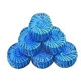 lumanuby 10pcs Desodorante bloque soluble en agua para inodoro limpiador para limpieza y Aromatización para inodoro (azul)