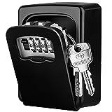 Diyife - Caja de cerradura para llaves, extra grande, [versión actualizada] [montaje en pared]...