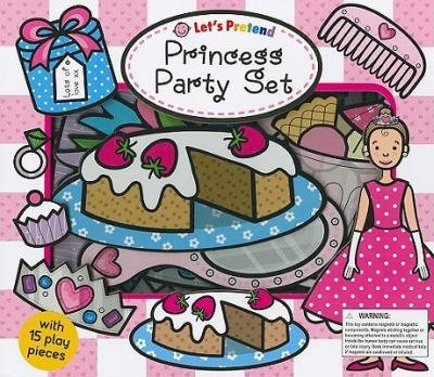 By Emma Surry ; Hermione Edwards ; Dan Green ( Author ) [ Princess Party Set [With 15 Play Pieces] Let's Pretend By Apr-2009 Hardcover -