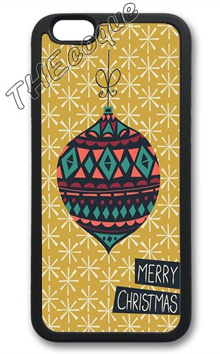 Coque silicone BUMPER souple IPHONE 4/4s - Joyeux noel pere noel merry Christmas motif 7 DESIGN case+ Film de protection OFFERT 8