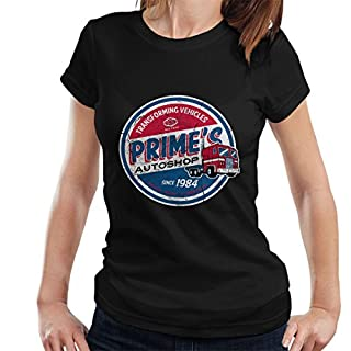 Transformers Optimus Prime Autoshop Women's T-Shirt