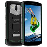 Blackview BV5800 Outdoor Smartphone, Android 8.1 Smartphone 16GB ROM + 2GB RAM 5580mAh 5A/2A Schnellladung Robust Handy, 13MP + 8MP Kameras 18:9 + 5.5 Zoll Display Dual 4G Smartphone, Grün