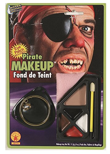 irate Makeup Kit by Rubie's Costume Co (Pirate Kit Make Up)