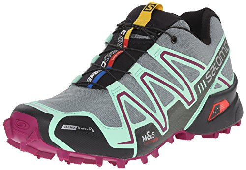 Salomon Speedcross 3 CS Women's Chaussure Course Trial - SS16 Gris/Vert