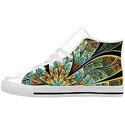 Zapatillas de piel para hombre diseño de fractal EUR41/US9