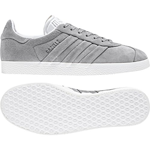 Adidas Originals Gazelle OG - Zapatos para Mujer, Gris (Mgh Solid Grey/Off White/Gold Met.), 44