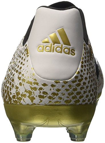 adidas Herren Ace 16.2 Fg Fußball-Trainingsschuhe Weiß (Ftwr White/Core Black/Gold Metallic)
