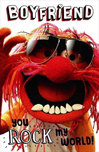 Boyfriend Muppets Animal Valentine's Card Disney Greetings Cards (Valentines Muppets)
