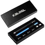 Paquete de lápiz, lápices {2} 2en 1punta fina lápiz capacitivo Universal con 4discos de repuesto y 2micro-knit híbrida Cable de puntas para iPhone iPad Samsung Galaxy HUAWEI