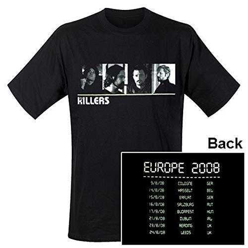 Killers - T-Shirt Tour Europe 2008 (in L)