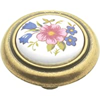 Hickory Hardware p776-bq 1,25 in. Inglese Cozy Bouquet Cabinet Knob