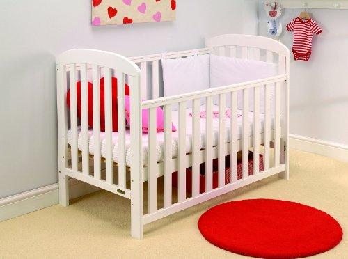 East Coast Anna Dropside Cot (White) East Coast Nursery Ltd  2