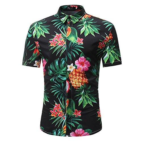 Funky Hawaiihemd,Saingace Slim Fit Kurzarm Hemden Für Outdoor ()