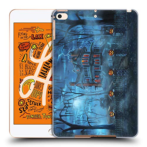 Head Case Designs Offizielle Geno Peoples Art Neblig Magie Halloween Harte Rueckseiten Huelle kompatibel mit iPad Mini (2019)