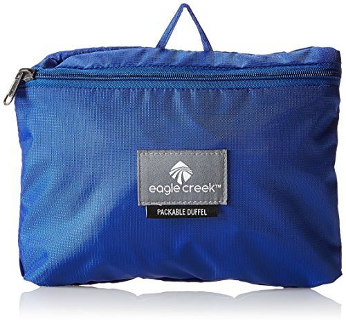 Eagle Creek Falttasche Packable Duffel Tasche zum klein machen , black, EC041248010 Blue Sea
