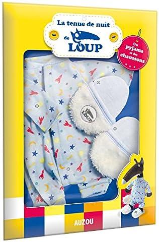 Le Loup - tenue pour habiller la peluche (pyjama et chaussettes)