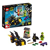 LEGO 76137 4+ DC Batman Batman VS The Riddler Robbery Batmobile Toy Car for Kids 4 Years Old