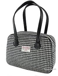 Damen Harris Tweed authentischen quadratischen Handtaschen lb1005